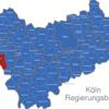 Map Köln Regierungsbezirk Aachen