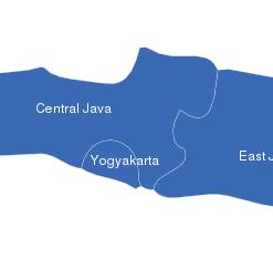 Map Java Karte Provinzen Jakarta