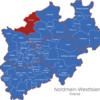 Map Nordrhein Westfalen   Nrw   Kreise Borken