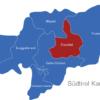 Map Südtirol Karte Bezirke Eisacktal